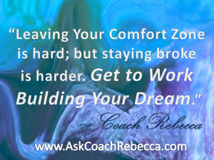 Ask Coach Rebecca-Get to Work