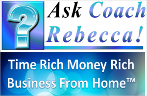 Ask Coach Rebecca-Logo Time Rich