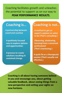 Coaching is a relationship of equals.